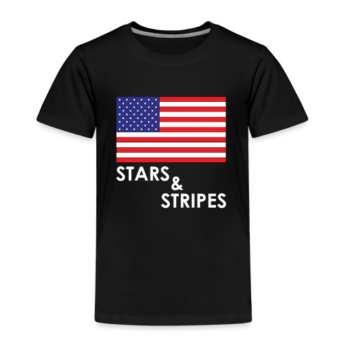 Stars & Stripes   Flagge USA - Kinder Premium T-Shirt