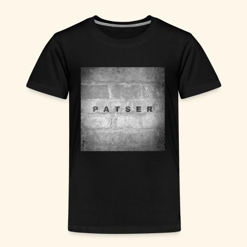 patser grijze steen - Kinderen Premium T-shirt