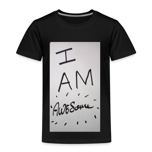 I am Awesome - Kids' Premium T-Shirt