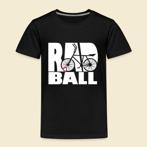 Radball | Typo - Kinder Premium T-Shirt
