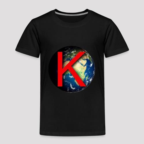 OFFICIAL Know Earth IT - Maglietta Premium per bambini