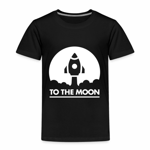 To The Moon - Kinder Premium T-Shirt