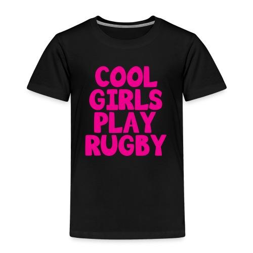 Cool Girls Play Rugby - Kids' Premium T-Shirt