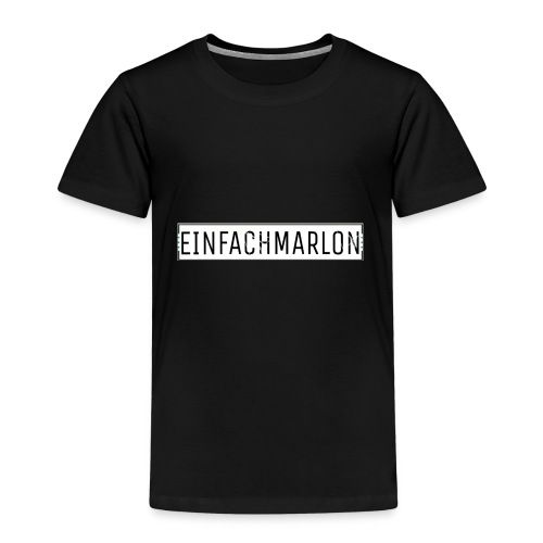 EinfachMarlon Logo - Kinder Premium T-Shirt