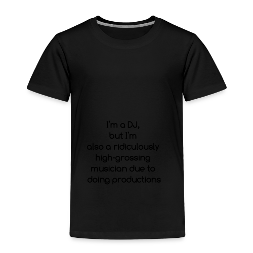 IM A DJ! - Kinderen Premium T-shirt