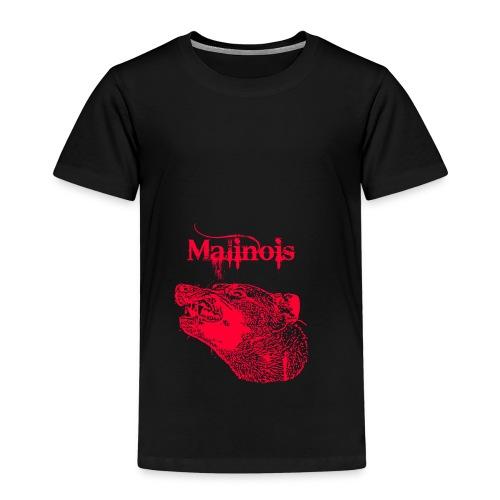 Malinois Zaehne rot - Kinder Premium T-Shirt
