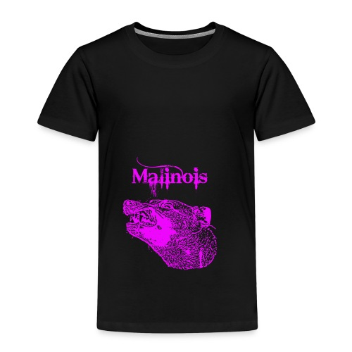Malinois Zaehne pink - Kinder Premium T-Shirt
