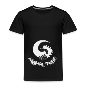 Animal Tube Hand Grey - Kinder Premium T-Shirt