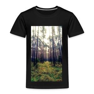 Las we mgle - Koszulka dziecięca Premium