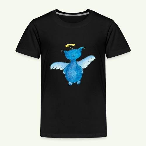 Katzengel Charlie - Kinder Premium T-Shirt