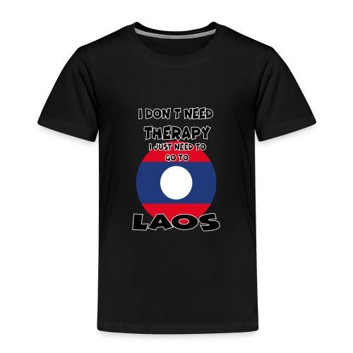 laos 1 - Kinder Premium T-Shirt