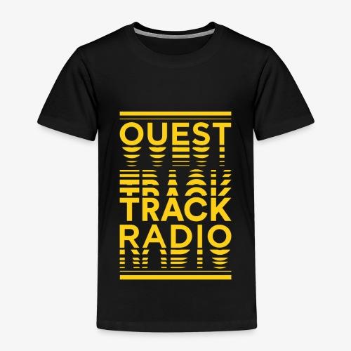 Logo Vertical Grand Jaune - T-shirt Premium Enfant