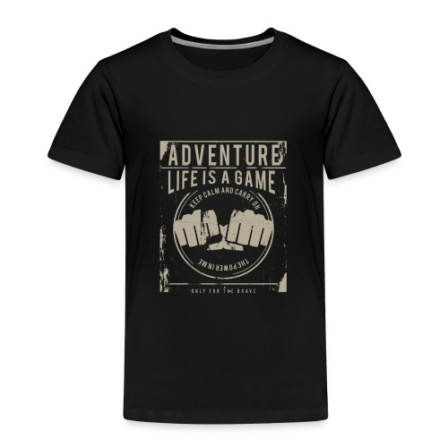 Life Is A Game - Kids' Premium T-Shirt