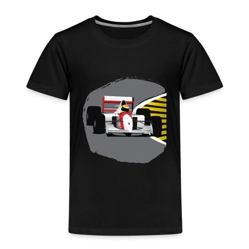 Senna Formula Race Car - Kinderen Premium T-shirt