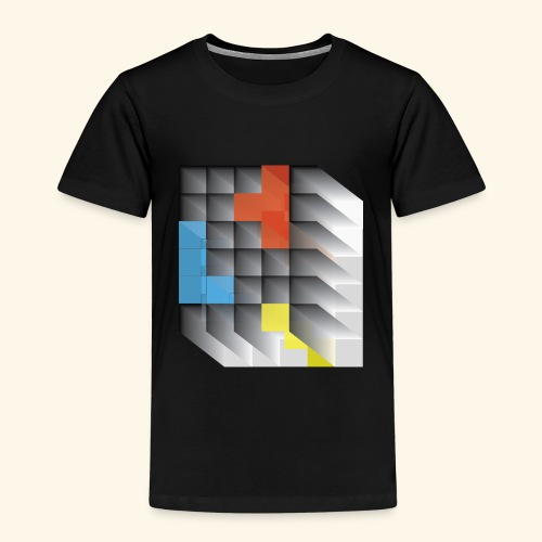 Vintage Block Game - Kids' Premium T-Shirt