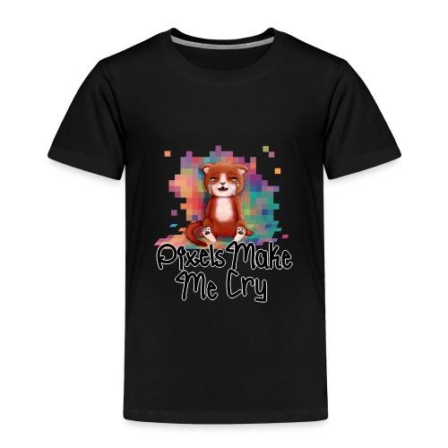 Pixel's Make Me Cry - Kids' Premium T-Shirt