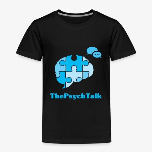 The Psych Talk Logo - Jigsaw Brain - Kids' Premium T-Shirt