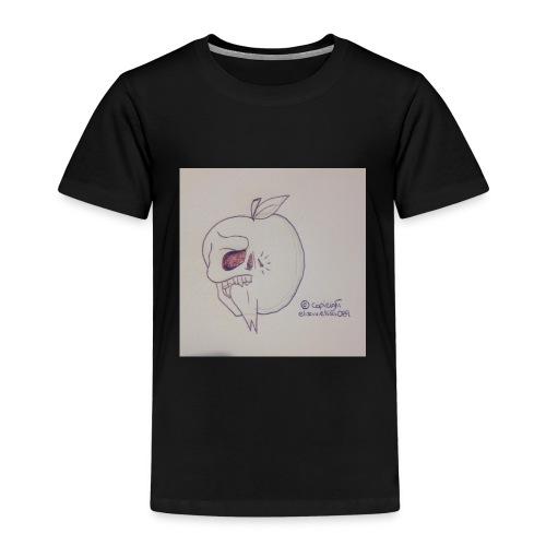 AppleSkull - Maglietta Premium per bambini