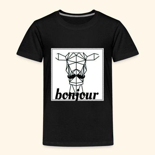 Bonjour - Kinderen Premium T-shirt