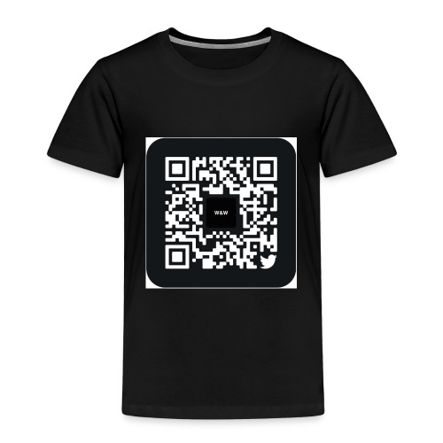 W&W Instagram QR - Kids' Premium T-Shirt