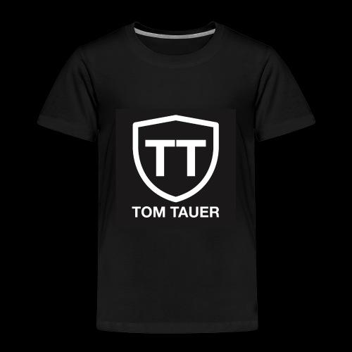 TOM TAUER Logo schwarz - Kinder Premium T-Shirt
