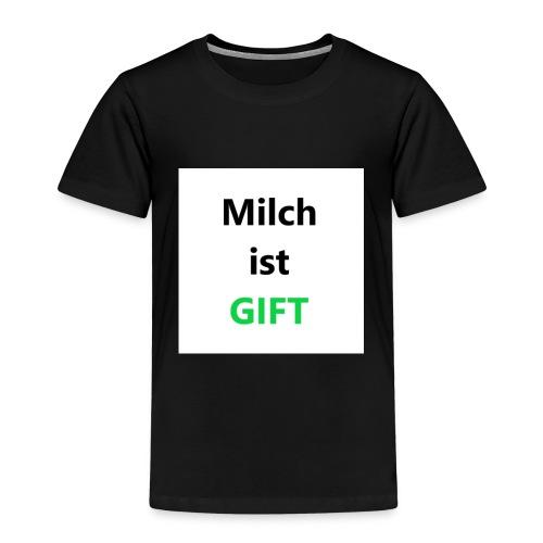 Milch ist Gift Geschenk Ungespielt YouTuber Idee - Kinder Premium T-Shirt