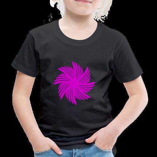 Flügelblume violett - Kinder Premium T-Shirt