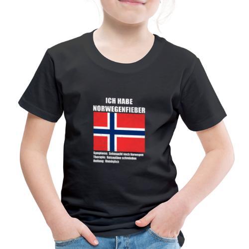 Ich habe Norwegenfieber - Kinder Premium T-Shirt
