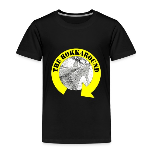ROKKAROUND - Maglietta Premium per bambini