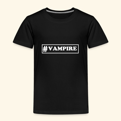 Hashtag Vampire - Kinder Premium T-Shirt