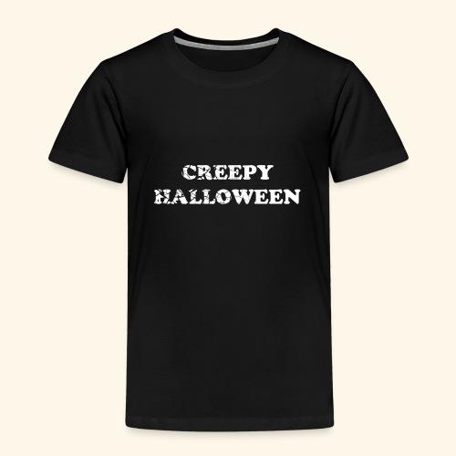 Creepy Halloween - Kinder Premium T-Shirt
