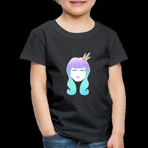 Mermaid Princess rainbow hair - Kids' Premium T-Shirt