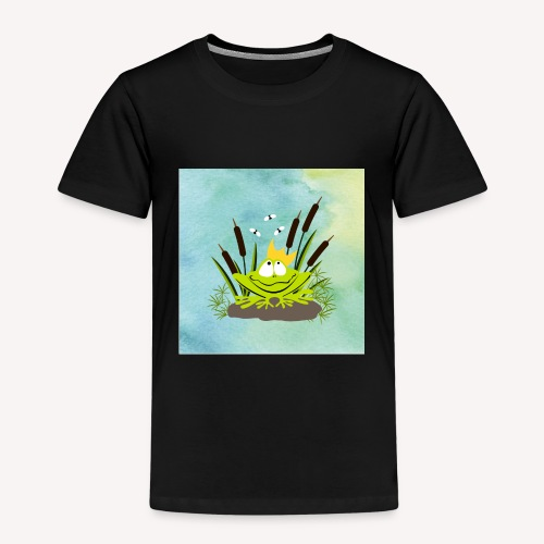 frog king watercolor - Kinder Premium T-Shirt