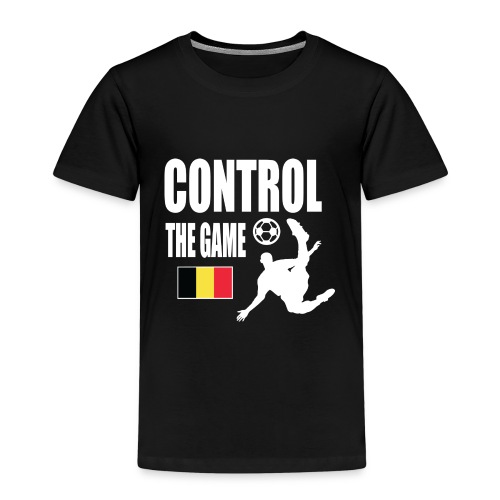 Control The Game Belgium - Kinderen Premium T-shirt