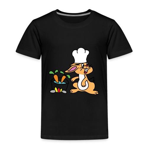 Chefkopf Hase - Kinder Premium T-Shirt