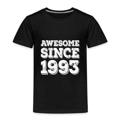 Awesome since 1993 Geburtsjahr Birthday - Kinder Premium T-Shirt