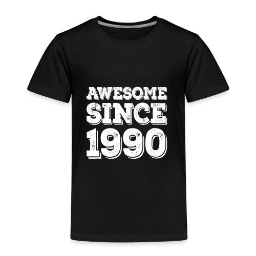 Awesome since 1990 Geburtsjahr Birthday - Kinder Premium T-Shirt