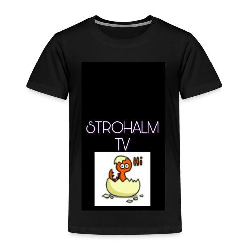 STROHALMTVLOGO - Kinder Premium T-Shirt