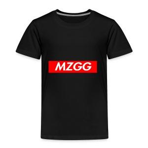 MZGG FIRST - Premium-T-shirt barn
