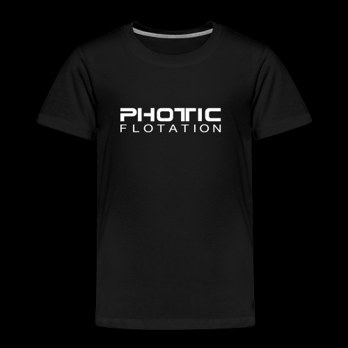 PHOTIC FLOTATION LOGO - Premium T-skjorte for barn