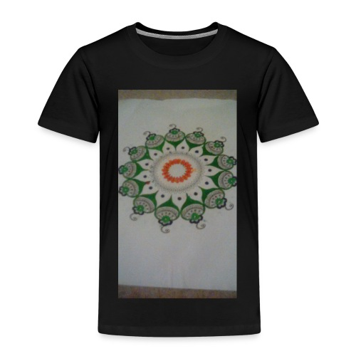 Freehand pattern by josef - Kids' Premium T-Shirt