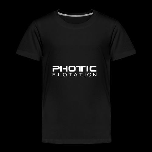 PHOTIC FLOTATION LOGO - Premium T-skjorte for barn