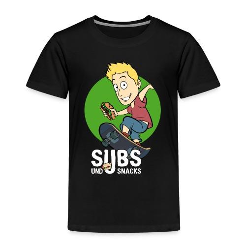 Subs und Snacks Skateboarder - Kinder Premium T-Shirt
