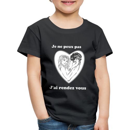 cheval j'peux pas cheval passion cœur tendre FS - T-shirt Premium Enfant