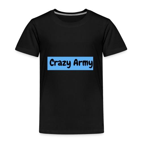 Crazy Army - Premium T-skjorte for barn