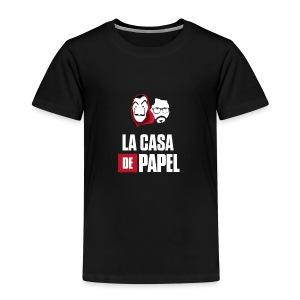 LA CASA DE PAPEL PROF. - Camiseta premium niño