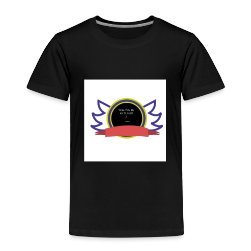 Will you be my player 2 - Kids' Premium T-Shirt