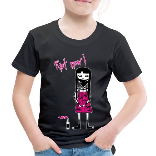 Molly für schwarze Artikel, Widerstand jetzt! - Kinder Premium T-Shirt