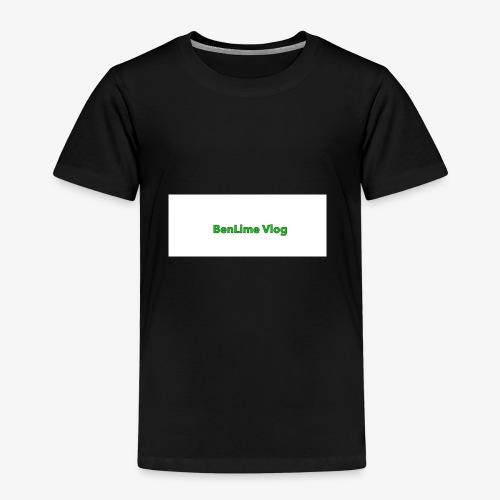 The BenLime Vlog sing - Premium-T-shirt barn