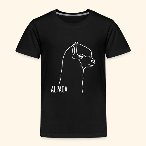 Alpaga blanc - T-shirt Premium Enfant
